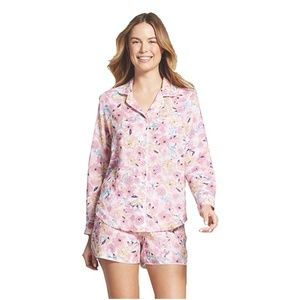New Gilligan & O'Malley Floral Pajama Short Set